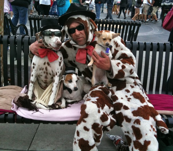 The Dog Man of San Francisco and His Dogs