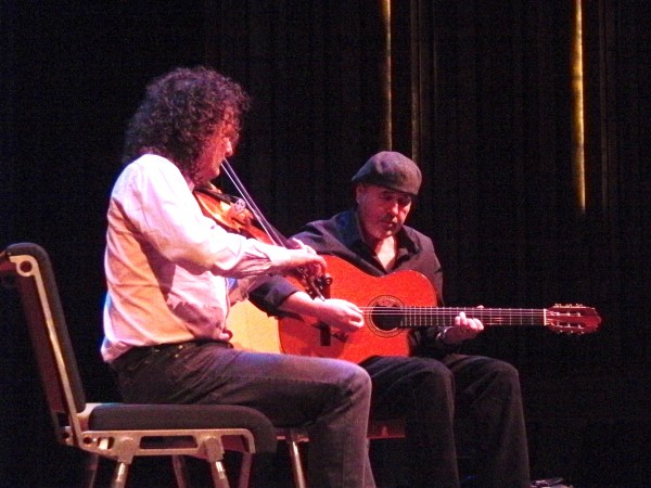 Martin Hayes and Dennis Cahill, on Stage at The Freight and Salvage Coffee House in Berkeley, CA