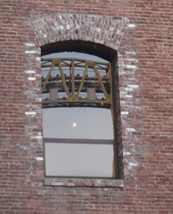 Brick Building Window