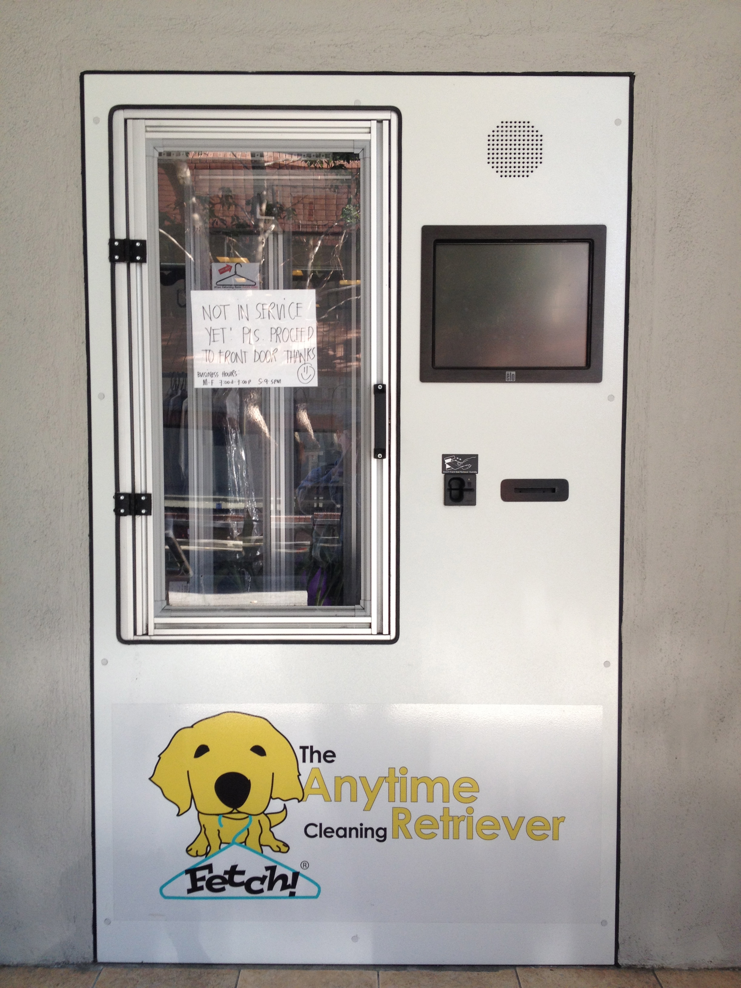 Anytime Retriever Dry Cleaning Machine