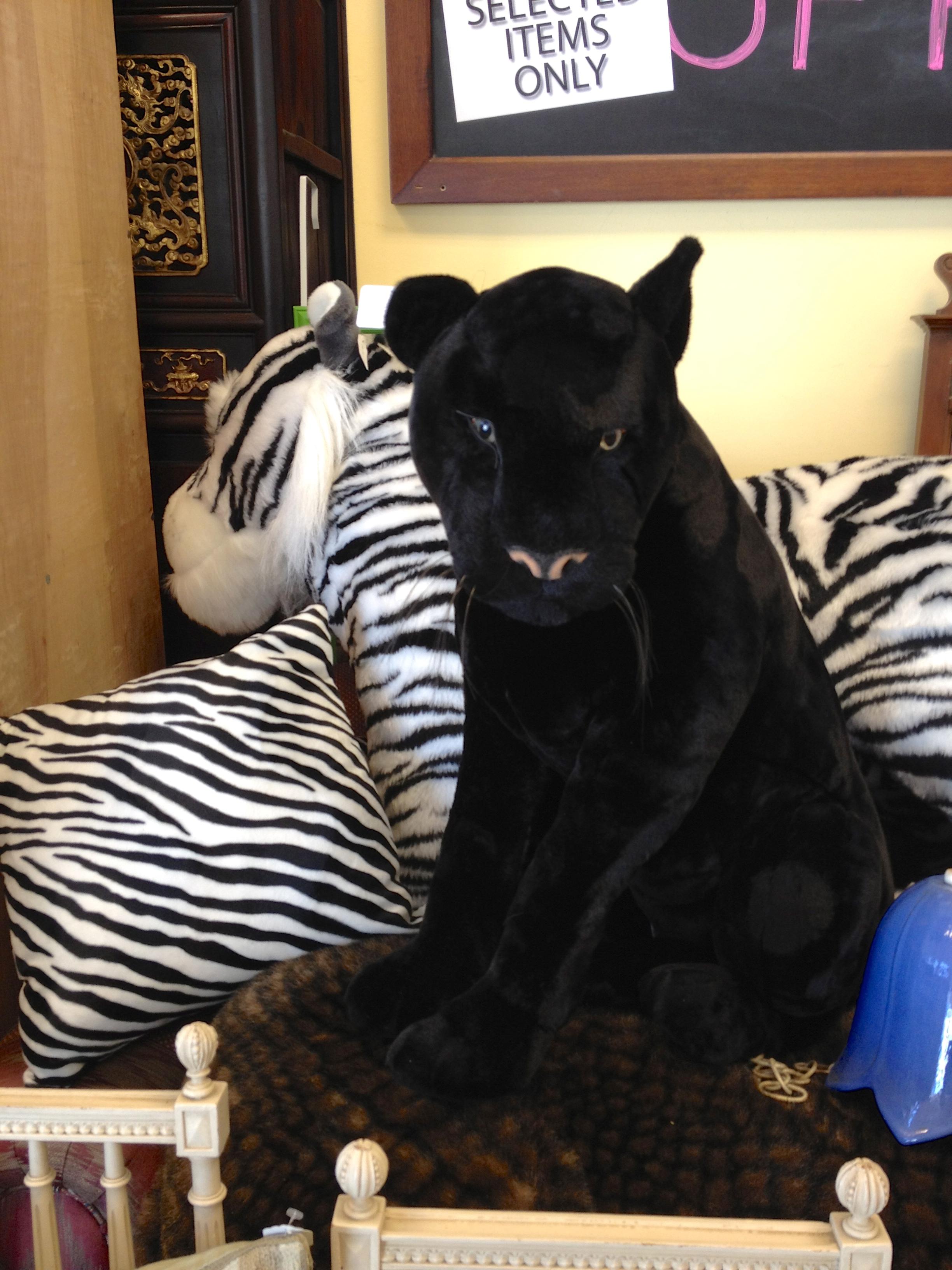 Giant Stuffed Animal Panther