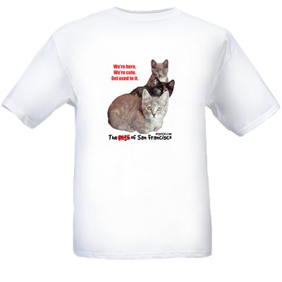 The Cats of San Francisco Tee Shirt