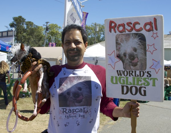 Rascal the Chinese Crested, Contestant for World's Ugliest Dog