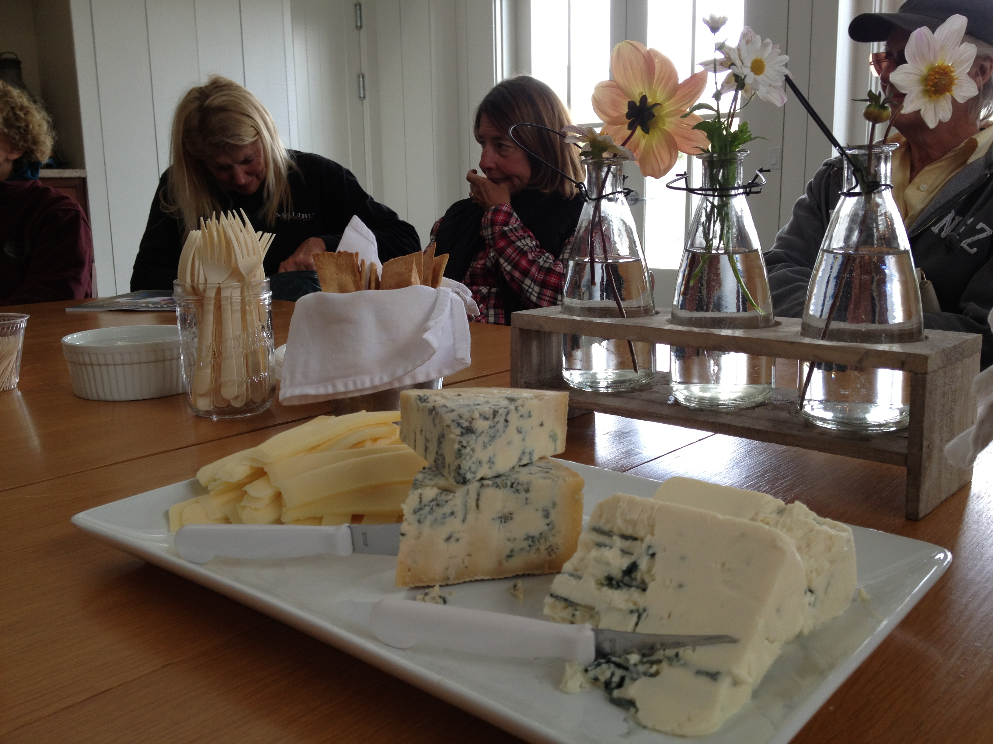Cheese Tasting at the Point Reyes Farmstead Cheese Compnay