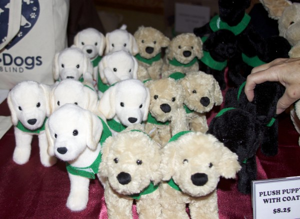 Stuffed Plush Guide Dog Puppies With Coats