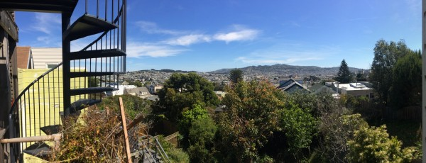 Panoramic View Of Part Of San Francisco