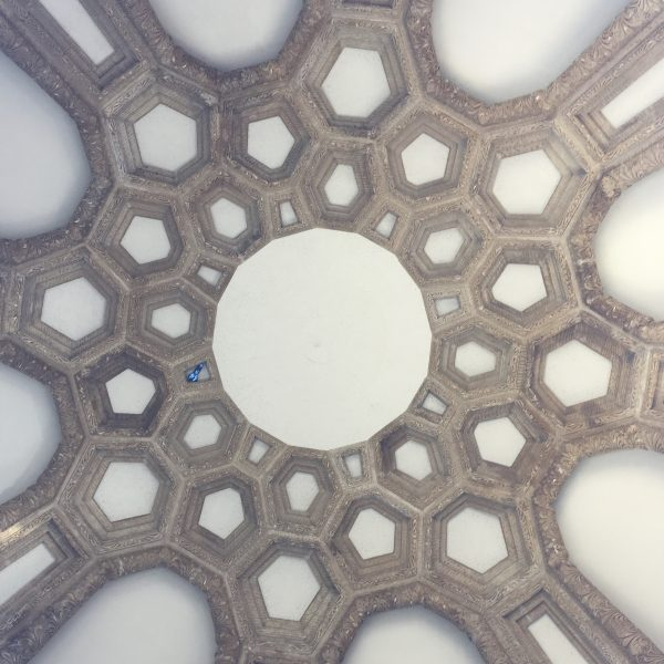 Ceiling Of The Dome Of The Palace Of Fine Arts San Francisco
