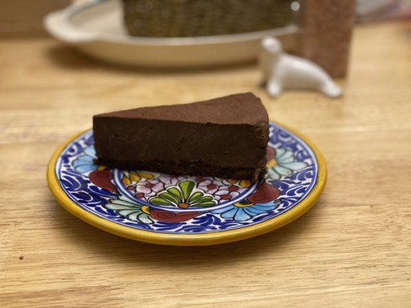 Chocolate Mousse Cake Pie Thingie
